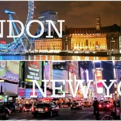 Location Independence at Christmas – New York and London