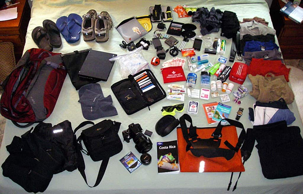 Backpacking with my gadgets
