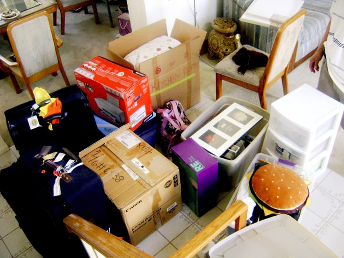 Location Independent moving house