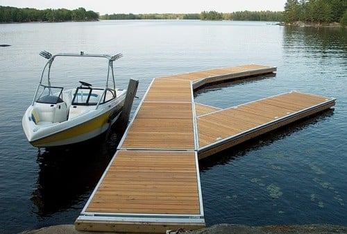 considerations to make when building a boat dock nunomad. Black Bedroom Furniture Sets. Home Design Ideas