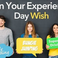 Celebrate National Experience Week and win up to £1000