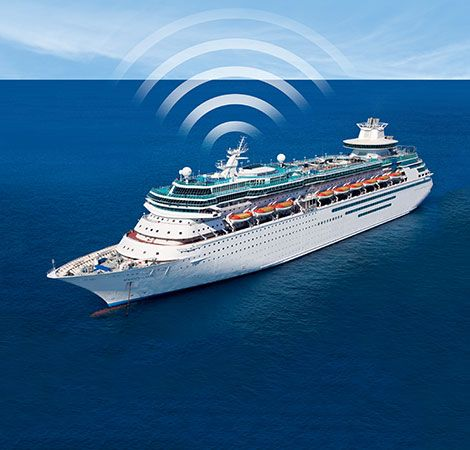 cruise ship wifi