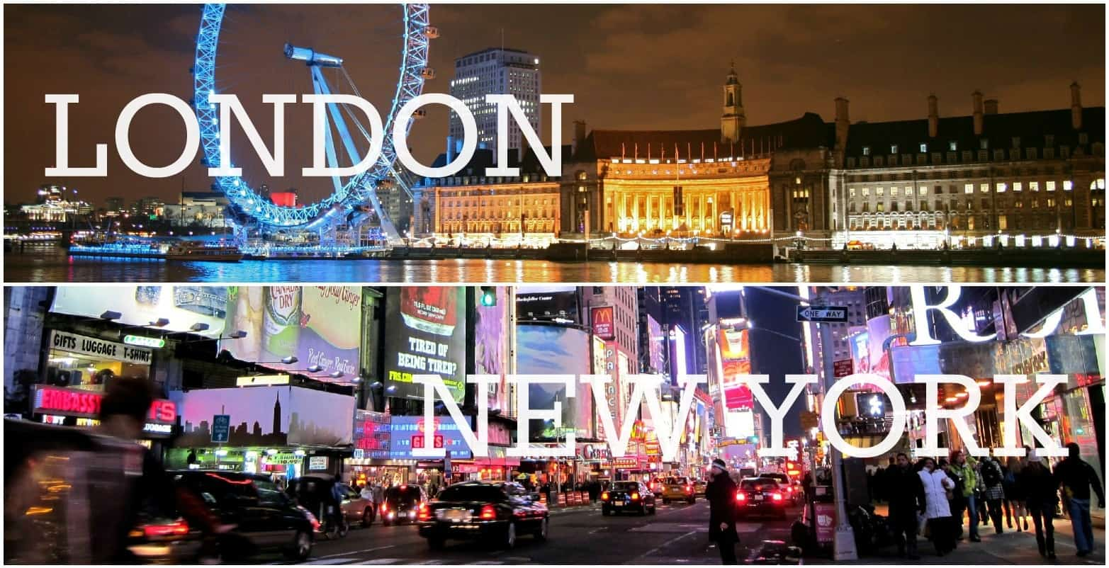 Location Independence At Christmas New York And London